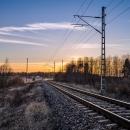 Railway at Dusk, 2014