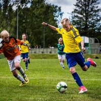 Hugo, junior soccer action, 2017