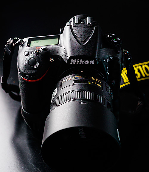 Nikon D810 with Nikkor AF-S 85mm 1.8G