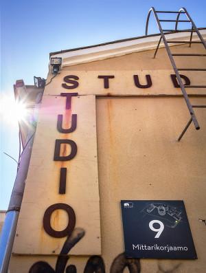Exterior of the Suvilahti studio